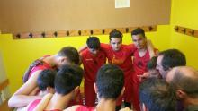 briefing d'avant-match (Jean Moulin Perpignan contre Angers)